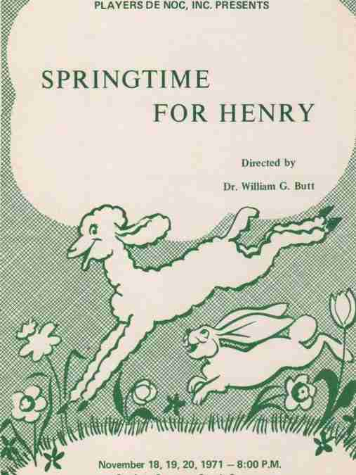 Springtime For Henry