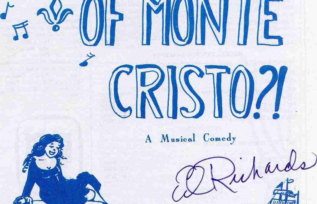 Not The Count Of Monte Cristo?!
