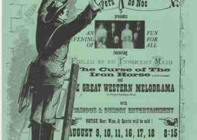 The Curse Of The Iron Horse and The Great Western Melodrama