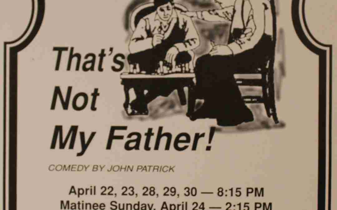 That's Not My Father!