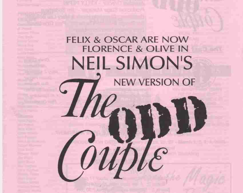 The Odd Couple – The New Version